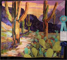 Saguaro Sentinels by Patsy Kittredge