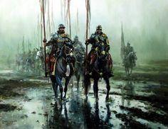 ЖИВАЯ ИСТОРИЯ Warhammer Fantasy, Fantasy Rpg, Medieval Fantasy, Military Art, Military History, Imperial Legion, Art Of Fighting, Fiction, Medieval World