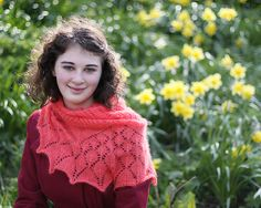 Botany Shawl by Emily Wessel Patterned Sheets, Summer Treats, Winter Sweaters, Knitted Shawls, Yarn Crafts, Botany, Knit Crochet, Turtle Neck, How To Wear