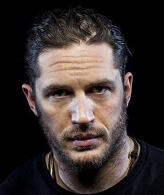 charlidos:  A portrait of Tom Hardy by Jay L. Clendenin - from Los Angeles Times.