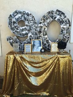 90th 1920's birthday party! See more party ideas at CatchMyParty.com!