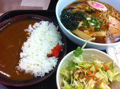 Ramen and curry set