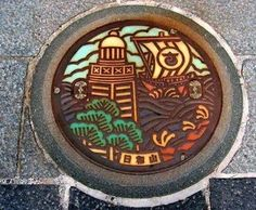 some of the most intricately designed and creative Manhole Covers