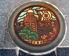 Manhole Cover Art JAPAN