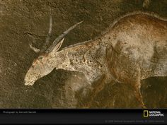 cave paintings in africa | Photo: Cave art in South Africa