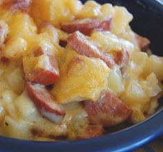 """Cheese, Potato & Sausage Casserole: """"Great recipe! My family absolutely loved it. The Velveeta cheese made this dish a hit."""" -mother_earth #dinnerrush"""