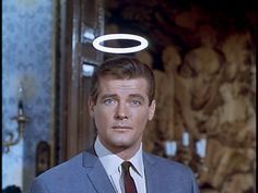 The Saint: Roger Moore James Bond, The Saint Tv Series, Eric Rogers, Movie Stars, Movie Tv, Best Horror Movies, Roger Moore, Old Hollywood Stars, Best Horrors
