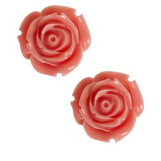 Retro Rosie Earrings ($9.99) ❤ liked on Polyvore