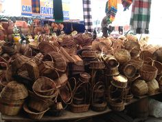 lots of baskets~Mercado 23~House of History, LLC.