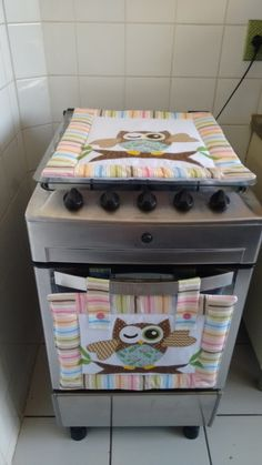 Kit para cozinha (coruja)