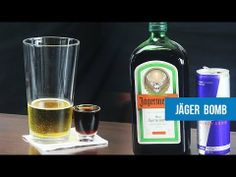 Jager Bomb Cocktail Recipe