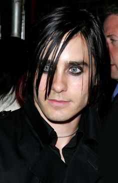 Jared Leto. Much as I adore the new fluffy look, the old sleek emo thing was great.