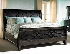 California King-Size Sleigh Bed. Beautiful detailing!