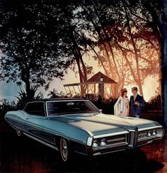 1969 Pontiac Bonneville Hardtop Coupe: Art Fitzpatrick and Van Kaufman