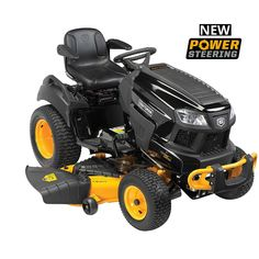 Craftsman Pro Series 26 HP V-Twin Kohler Locking Differential Garden Tractor Hydrostatic w/Smart Lawn Bluetooth Technology Electric Riding Lawn Mower, Best Riding Lawn Mower, Riding Mower, Zero Turn Lawn Mowers, Kohler Engines, Lawn Equipment, Bobcat Equipment, Cub Cadet, Lawn And Garden