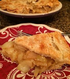 Apple Pie with Cooked Filling