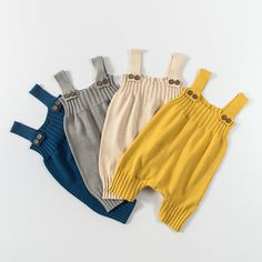 Knit Baby Romper - Lenny Lemons