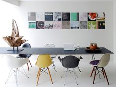 Emérita Desastre: Inspiraciones con la Silla Eames
