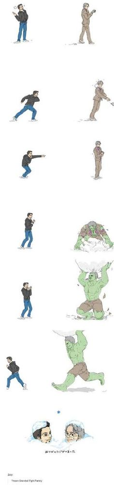 Science Bros Snowball Fight Frozen Parody