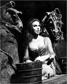Joan Diener in Man of La Mancha's original Broadway run.    the more I think about La Mancha the more nervous I get!