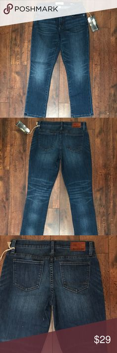 Henry & Belle Cropped Straight Jeans Henry & Belle Cropped Straight  Retro Stretch Jeans Size 26 Henry & Belle Jeans Ankle & Cropped