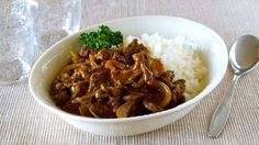 How to Make Hayashi Rice (Hashed Beef) Recipe ハヤシライス (ハッシュドビーフ) の作り方 (レシピ)