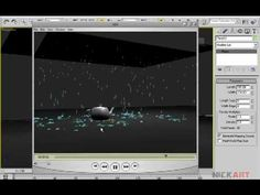 Free 3D Tutorials : http://3dvideotutorials.blogspot.com/ In this tutorial we will be looking at working of particle flow in 3ds max and making basic rain setup