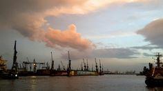 Hamburg. Harbour