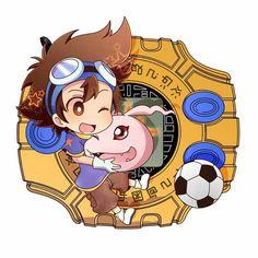 Taichi & Koromon