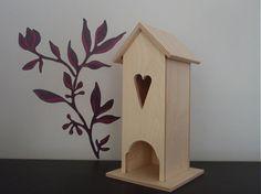 MartinaKovacic / Domček na čajové sáčky Bird, Outdoor Decor, Handmade, House, Home Decor, Hand Made, Decoration Home, Home, Room Decor