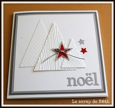 MINI ALBUM DE NOEL - this would make a great Christmas card too