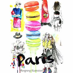 These are some sketches I did inspired by #pfw. I can't get enough #paris #fashionweek and of course #macaroons !#fashion #fashionblogger #fashionillustrator #fashionillustration #blogger #pfw #picoftheday #instaart #illustrator #illustration #instafashion #watercolor #art #artist #art_fashion #artoftheday #fashionweek #macaroons #streetstyle #french