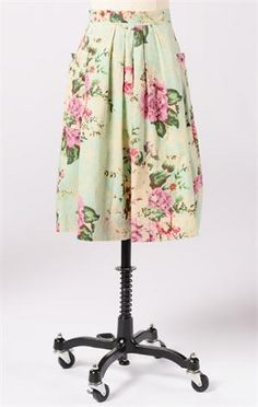 """Amy Bee Skirt -Floral   """"I'm pinning for a chance to win the DownEast Basics Fall Back to Basics Sweepstakes""""."""