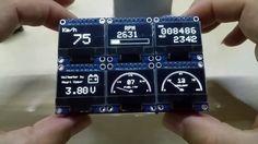 OLEDiUNO Display PCB, please see my improved version too :-) - YouTube