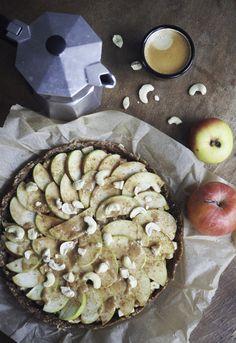 Raw Vegan, Apple Pie, Autumn, Simple, Desserts, Blog, Pie, Apple, Fall