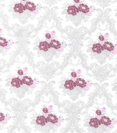 Buttercream™ Elizabeth Collection Cotton Fabric-Floral Damask