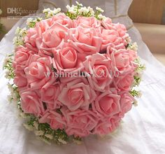 Only with average cost of wedding flowers,flowers bouquet pictures and fresh flowers, can you hold a good ceremony or party. Wholesale  Free shipping! Pink Bridal Bouquet Rose Flower throw bouquet,Bridal Bouquet, Bridesmaid Flowers in wishmeluck2010 on DHgate.com will let you down.