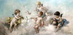 Putti... Charles Augustus Henry Lutyens (British, 1829-1915). Обсуждение на LiveInternet - Российский Сервис Онлайн-Дневников