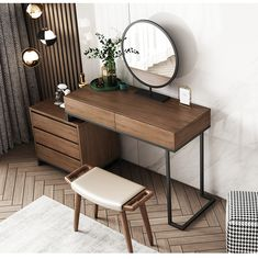 OverviewQuick DetailsType: Bedroom FurnitureSpecific Use: DresserGeneral Use: Home FurnitureFeature: AdjustableMail packing: YAppearance: ModernPlace of Origin: ChinaModel Number: Walnut/CustomizedSize: Type: MDF PanelMaterial: MDFWholesale Modern Design Dressing Table Design, Dressing Tables, Simple Dressing Table, Dressing Table Vanity, Room Ideas Bedroom, Bedroom Decor, Dresser Table, Contemporary Furniture, Modern Wood Furniture