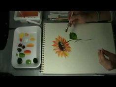 PENSAMIENTOS - PANSIES, PINTURA MULTICARGA, PINTURA DECORATIVA - YouTube #pinturadecorativatecnica