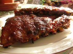 Best Baby Back Ribs In Town Recipe - Genius Kitchen Rib Recipes, Sauce Recipes, Dinner Recipes, Best Baby Back Ribs, Rib Sauce, How To Cook Ribs, Smoking Recipes, Pork Ribs, Bbq Ribs