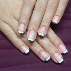 #gelpolish #french #manicure