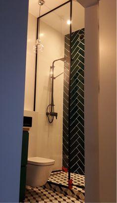 Drzwi Loftowe - Industrialne | Drzwi wewnętrzne - zabudowy szklane - drzwi loft - podłogi Door Mirrors, Diy Home Crafts, Spa, Loft, Doors, Nice, Furniture, Home Decor, Houses