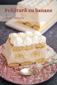 Cookie Recipes, Dessert Recipes, Romanian Food, No Cook Desserts, Bread And Pastries, Vanilla Cake, Cheesecake, Deserts, Good Food