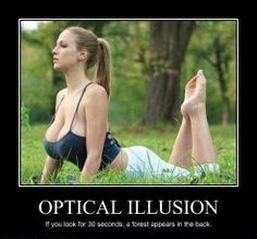 Optical Illusion www.facebook.com/pages/Focalglasses/551227474936539 Best Vision in The World!