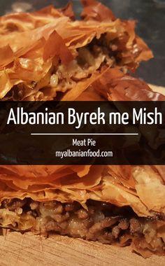 Albanian Meat Byrek