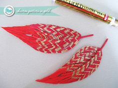 gorgeous handmade feather tutorial ^.^ by Beckie Farrant {infarrantly creative}