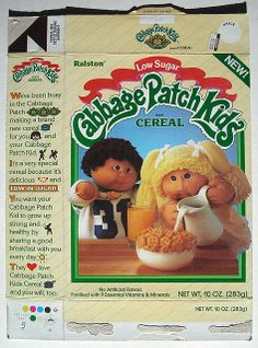 Cabbage Patch Kids Cereal