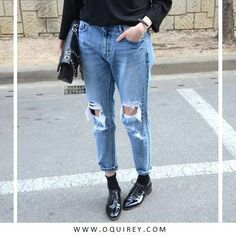   How to Style    #brogues #jeans #style #inspiration
