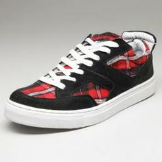 Gas Black Men   Sneakers